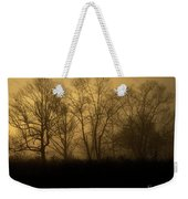 Morning Fog, #2, Smoky Mountains, Tennessee Weekender Tote Bag