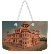 Mohatta Palace At Sunset Weekender Tote Bag