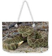 Mohave Green Rattlesnake Striking Position 3 Weekender Tote Bag