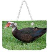Mohawk Duck Weekender Tote Bag
