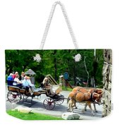 Mohonk Carriage Tour Weekender Tote Bag