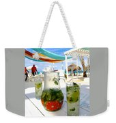Mojitos On The Beach- Punta Cana Weekender Tote Bag