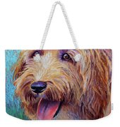 Mojo The Shaggy Dog Weekender Tote Bag
