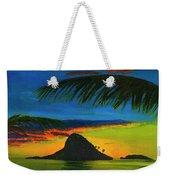 Mokolii Sunset #80  Weekender Tote Bag