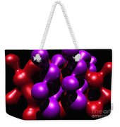 Molecular Abstract Weekender Tote Bag