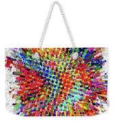 Molecular Floral Abstract Weekender Tote Bag