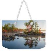 Molega Lake, Nova Scotia Weekender Tote Bag