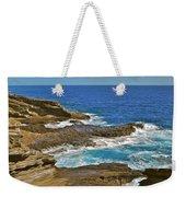Molokai Lookout 0649 Weekender Tote Bag