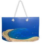 Molokini Crater Weekender Tote Bag