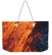 Molten Pahoehoe Lava Weekender Tote Bag