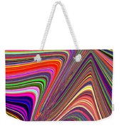 Molten Rainbow Weekender Tote Bag
