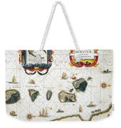 Moluccas: Spice Islands Weekender Tote Bag
