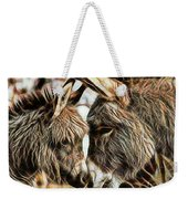 Mom And Child Weekender Tote Bag