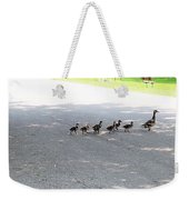 Mom And Her Ducklings Weekender Tote Bag
