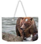 Mom Hunts Haines, Alaska Weekender Tote Bag