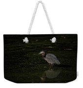 Moment Of The Heron Weekender Tote Bag