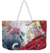 Moment Of Truth 2010 Weekender Tote Bag by Miki De Goodaboom