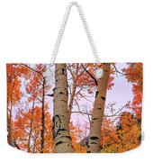 Moments Of Fall Weekender Tote Bag