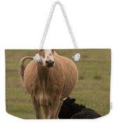 Momma Cow Weekender Tote Bag