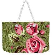 Mom's Day Elegance Vintage Rose Weekender Tote Bag