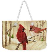 Mom's Favorite Redbirds Weekender Tote Bag