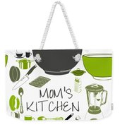 Moms Retro Kitchen Cookware Weekender Tote Bag