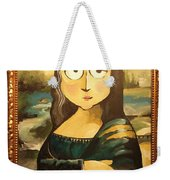 Mona In A Guilded Frame Weekender Tote Bag