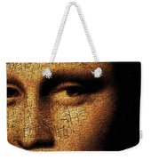 Mona Lisa Eyes 3 Weekender Tote Bag