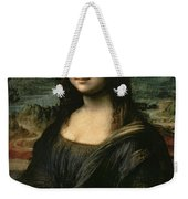 Mona Lisa Weekender Tote Bag by Leonardo da Vinci