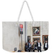 Mona Lisa, Louvre Museum, Paris Weekender Tote Bag