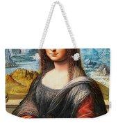Mona Lisa Painting Weekender Tote Bag
