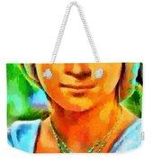Mona Lisa Young - Pa Weekender Tote Bag