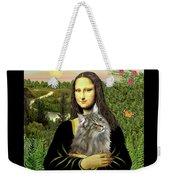 Mona Lisas Norwegian Forest Cat Weekender Tote Bag