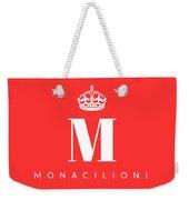 Monacilioni Corona Weekender Tote Bag