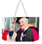 Monacled And Majestic Weekender Tote Bag