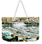 Monaco Grand Prix Racing Poster - Original Art Work Weekender Tote Bag