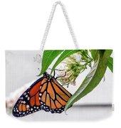 Monarch Butterfly In The Garden 3 Weekender Tote Bag