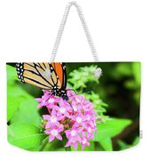 Monarch Butterfly And Honey Bee Weekender Tote Bag