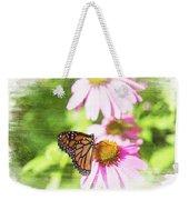 Monarch Butterfly Art Weekender Tote Bag