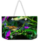 Monarch Buttefly Weekender Tote Bag