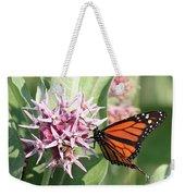 Monarch Butterfly Showy Milkweed Bloom Weekender Tote Bag