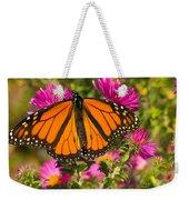 Monarch Feeding Weekender Tote Bag