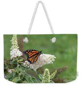 Monarch On A Butterfly Bush Weekender Tote Bag