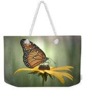 Monarch On A Black Eyed Susan Weekender Tote Bag
