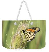 Monarch On A Thistle  Weekender Tote Bag