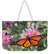 Monarch On Blanket Flower Weekender Tote Bag
