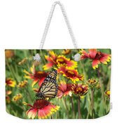 Monarch On Blanketflower Weekender Tote Bag