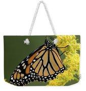 Monarch On Goldenrod Weekender Tote Bag