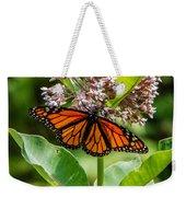 Monarch On Milk Weed Weekender Tote Bag