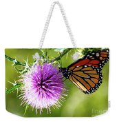 Monarch Thistle Weekender Tote Bag